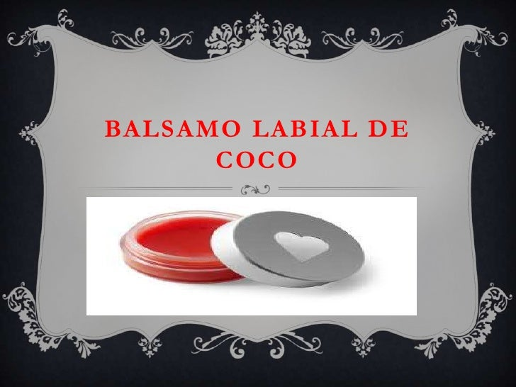 BALSAMO LABIAL DE      COCO