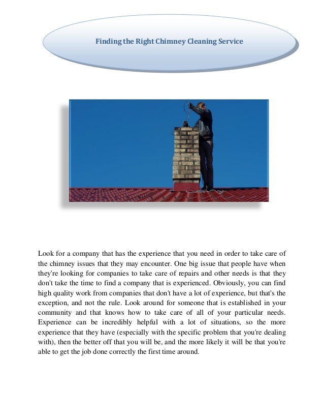 Baltimore chimney cleaning