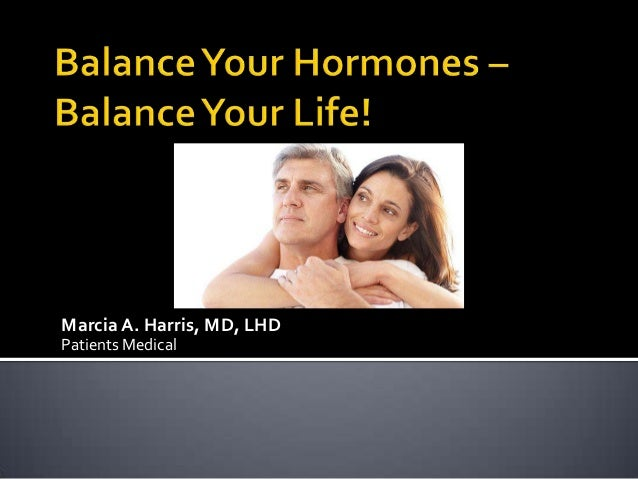 Balance Your Hormones - Balance Your Life! with Bio-Identical Hormone Pellet Therapy