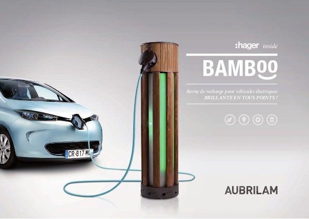 Borne de recharge pour véhicules électriquesBrillante en tous points !