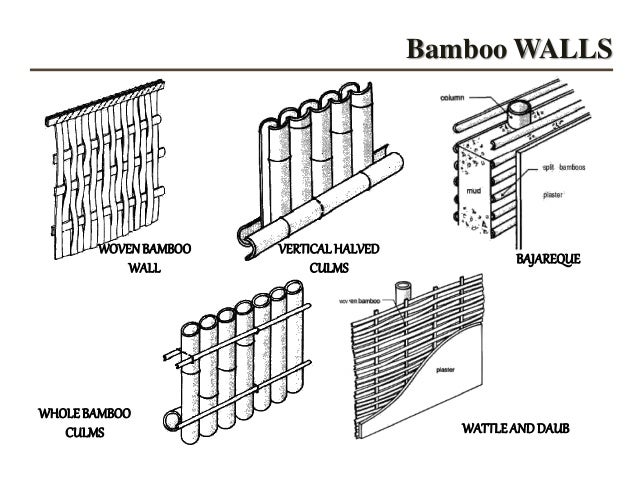 Bamboo Species Good For Construction In India Nd As A Material