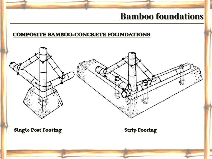 Bamboo Construction Details Wwwimgkidcom The Image