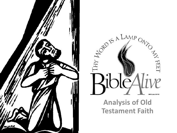 Analysis of Old Testament Faith<br />
