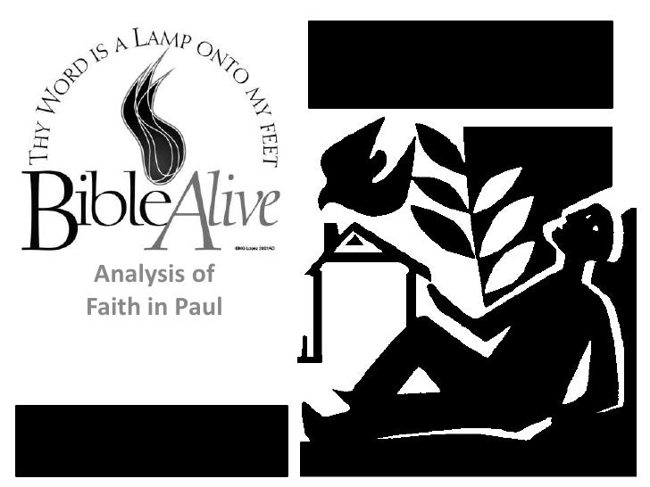 "Bible Alive ""Faith in Paul"""