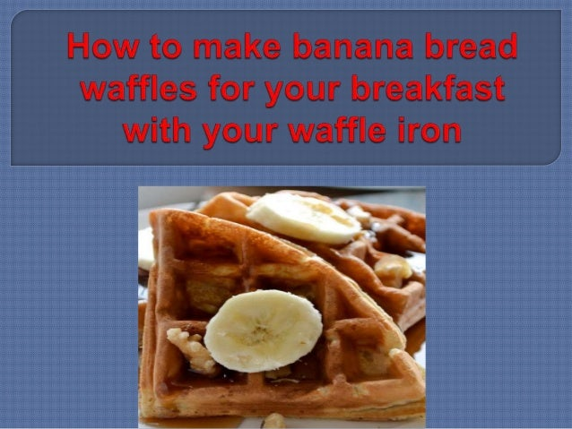 how to make waffles with flour