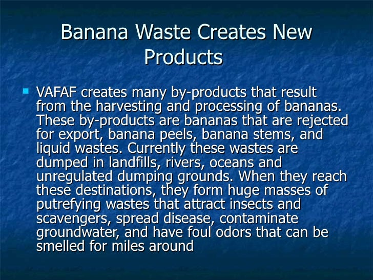 """ethanol fuel production from banana waste """"a step towards environmental waste management and (ethanol) production from waste banana the negative impacts of fossil fuel on the environment and the."""