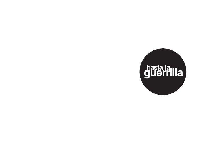 hasta la guerrilla