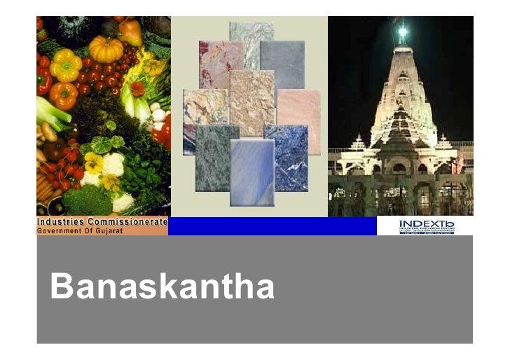 Banaskantha - District Profile