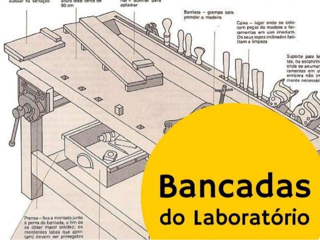 Bancadas de um Laboratório para solução de problemas