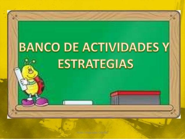 Banco de estrategias