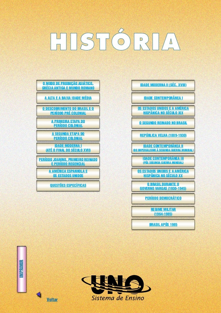 HISTÓRIA             O MODO DE PRODUÇÃO ASIÁTICO,           IDADE MODERNA II (SÉC. XVIII)             GRÉCIA ANTIGA E MUND...
