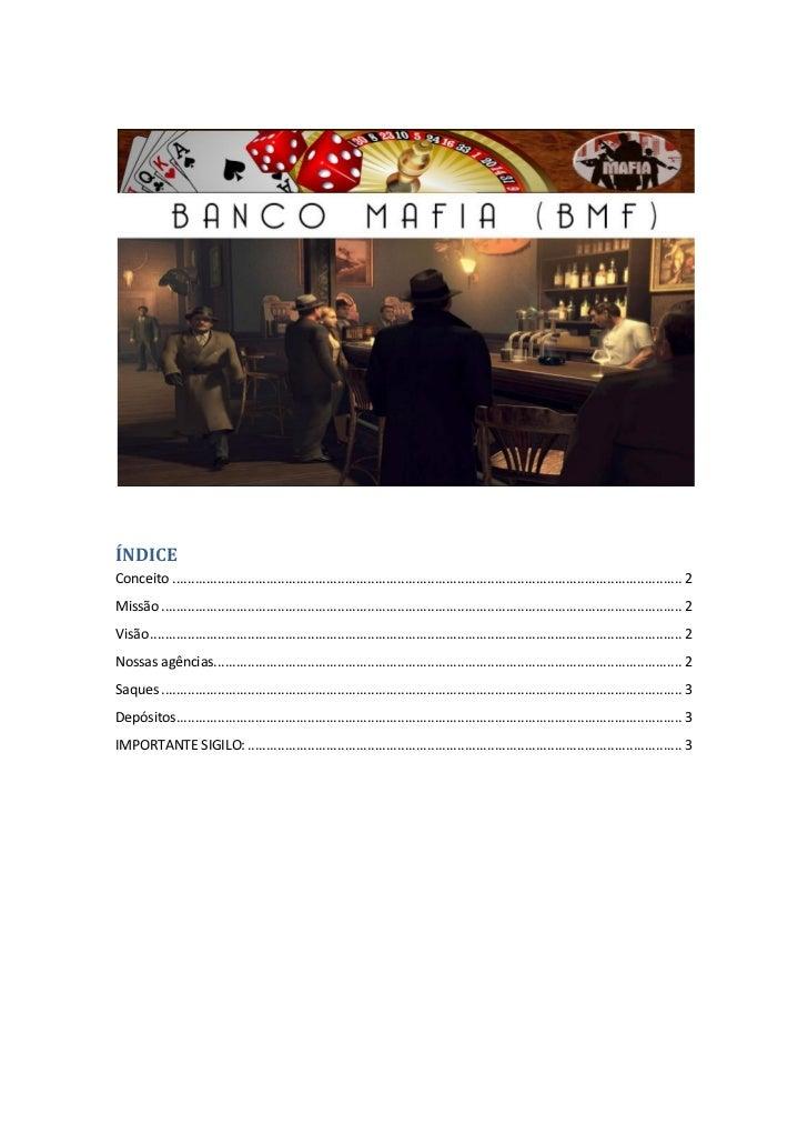 Banco Mafia (BMF)