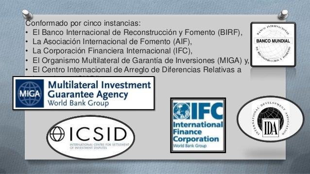 Banco mundial fondo monetario internacional for Banco internacional
