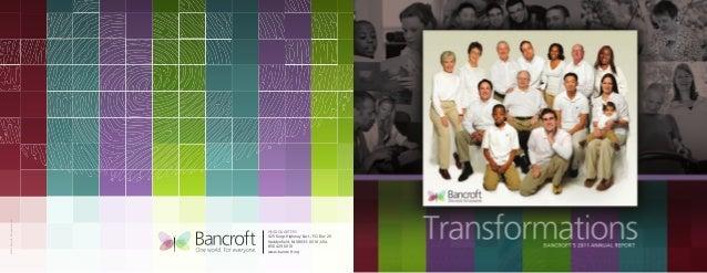 Bancroft Annual Report 2011