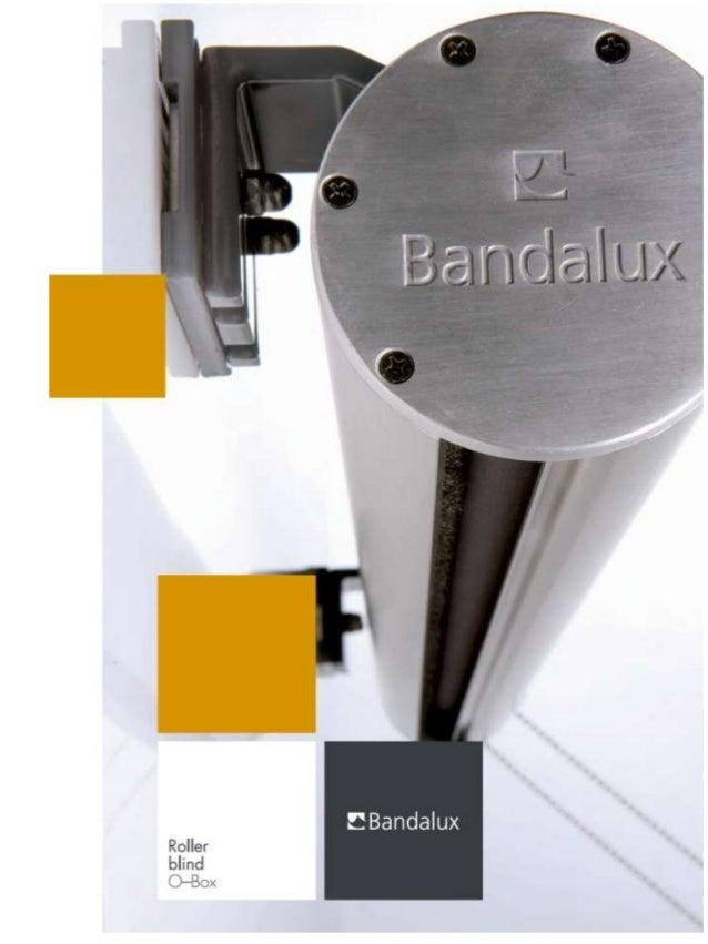 OmschrijvingBandalux O-Box rolgordijn systeem is bedienbaar met een ketting (O-Box 95), slingerstang of motor 230V. Het do...