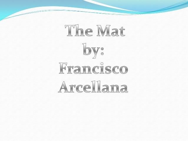 "Francisco Arcellana Francisco ""Franz"" Arcellana (September 6, 1916 – August 1, 2002) was a Filipino writer, poet, essayis..."