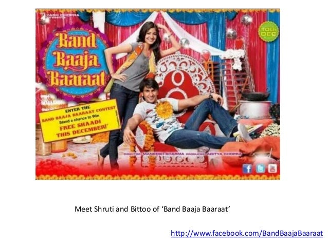Meet Shruti and Bittoo of 'Band Baaja Baaraat' http://www.facebook.com/BandBaajaBaaraat