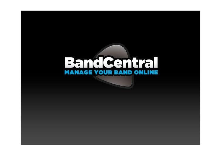 Band central presentation