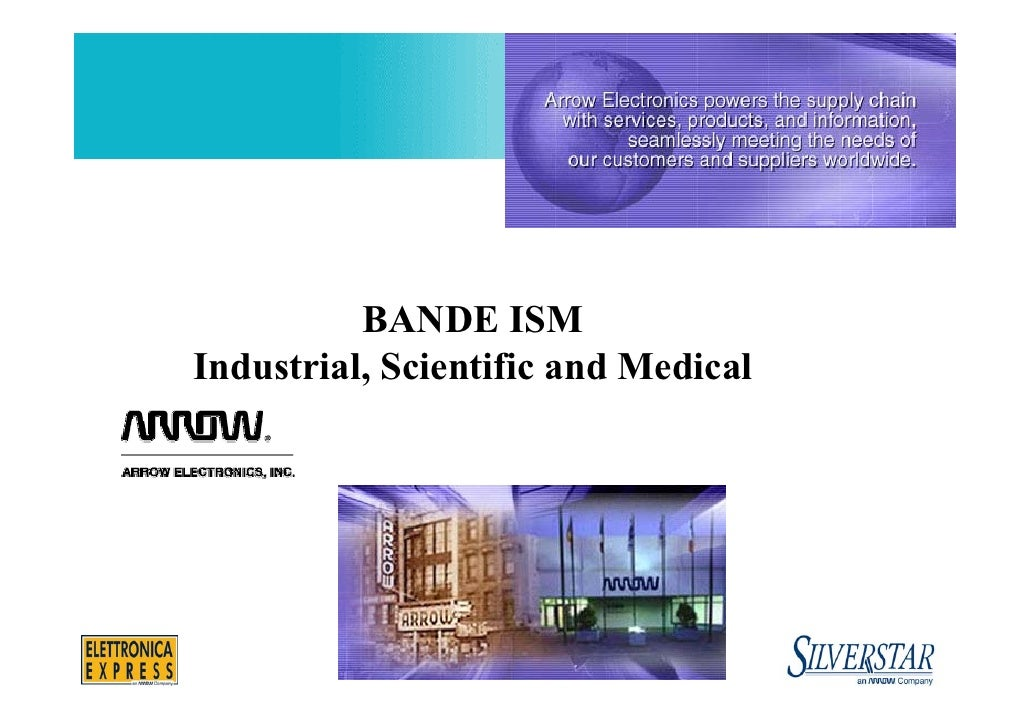 BANDE ISM Industrial, Scientific and Medical                        1