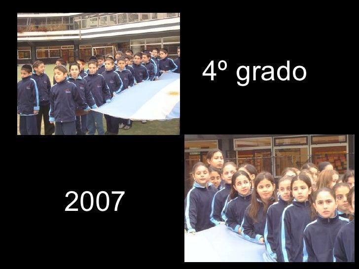 4º grado 2007