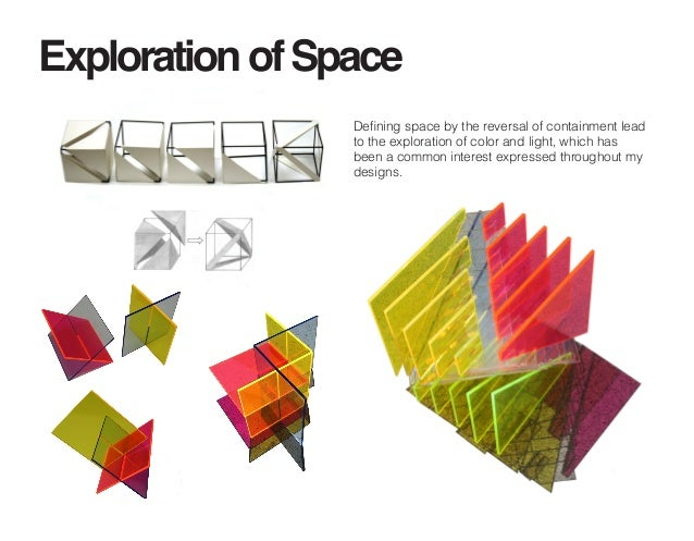 Independent study the psychology of color in an interior for Space defining elements in architecture
