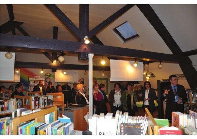 """Bibliothèque d'Autun_Inauguration de l'exposition Bandes dessinées et de la parution de la bande dessinée """"Retour en Autun..."""