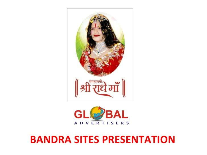 Hoarding in Bandra - Global Advertisers