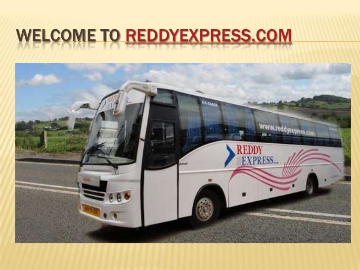 WELCOME TO REDDYEXPRESS.COM