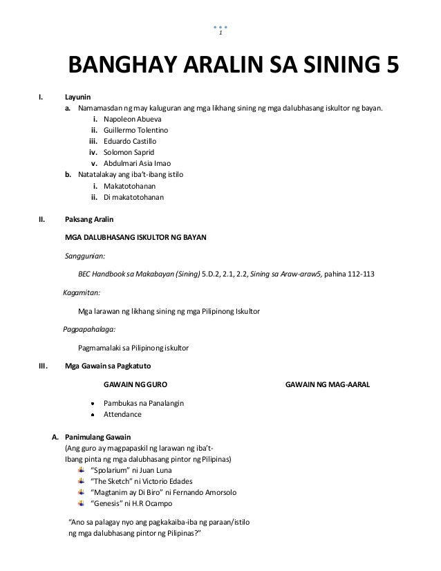 banghay aralin sa hekasi Id title language resource type actions 5403 : asean curriculum sourcebook : english : teacher's guide: view details: 5451 : k to 12 curriculum guide: edukasyon sa.