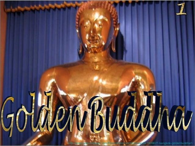Bangkok Golden Buddha1