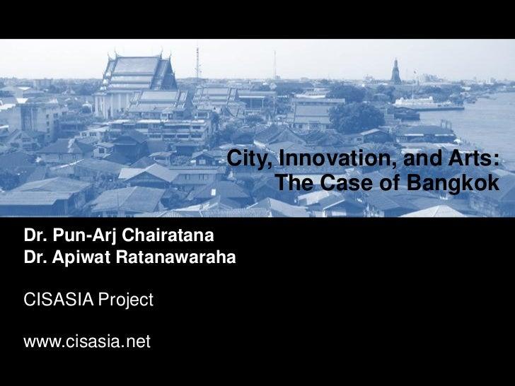 Bangkok city innovation