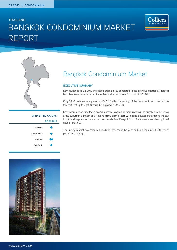 Bangkok Condominium Report Q3 2010