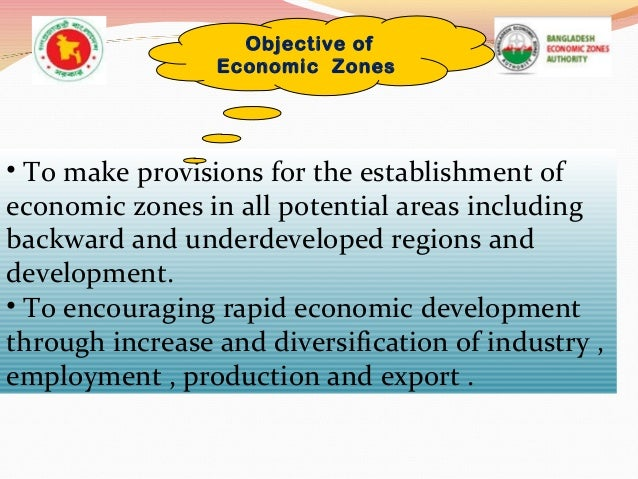 Economic Zone Economic Zones Act