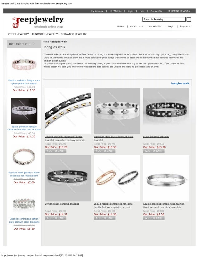 bangles walk | Buy bangles walk from wholesalers on jeepjewelry.com                                                       ...