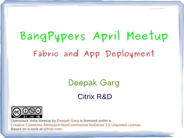 Bangpypers april-meetup-2012