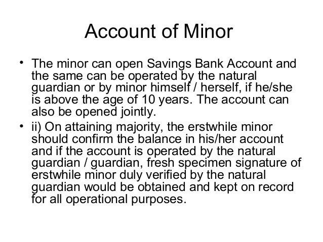 Procedure to Open a Bank Account Open Savings Bank Account
