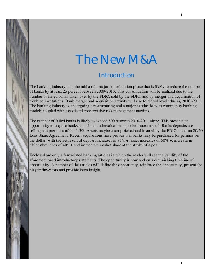 1                            The New M&A                       The New M&A                                        Introduc...