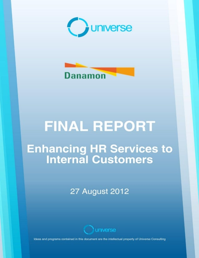 Final Report: Bank DanamonAugust 2012Page 2 of 48CONTENTS1      Introduction2      Activities Undertaken and Key Learning ...