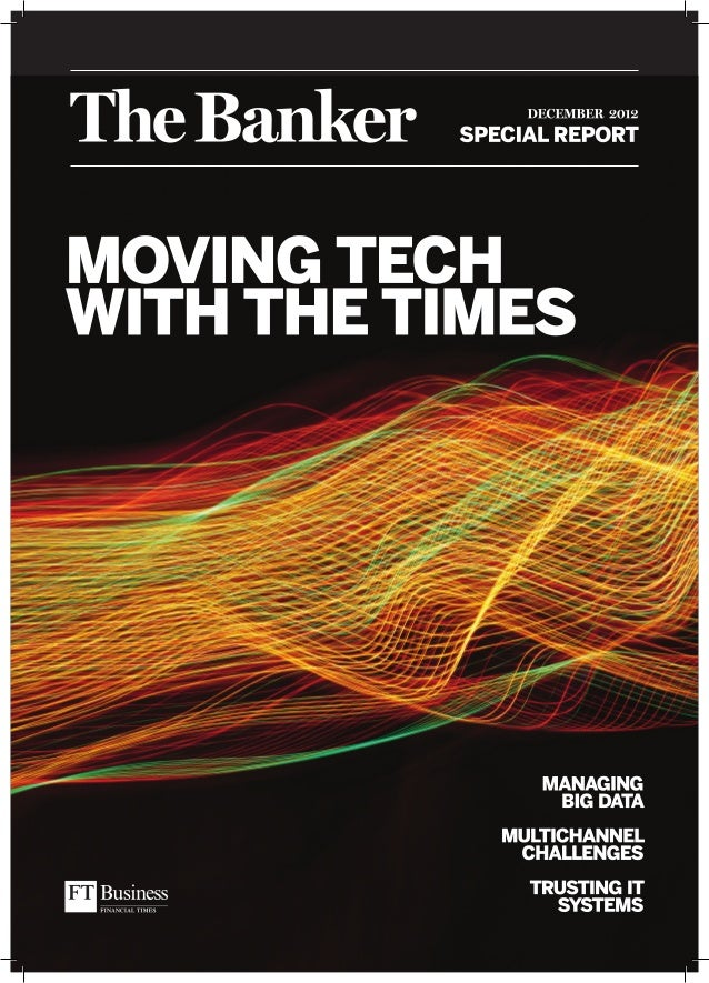 The Banker Special Report: Moving Tech with the Times