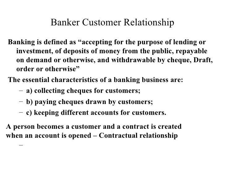banker customer relationship duties and responsibilities