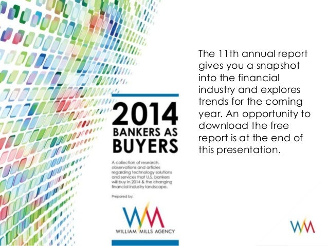 Bankers as Buyers 2014 Highlights Presentation