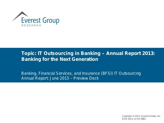 Banking annual report   preview deck - june 2013