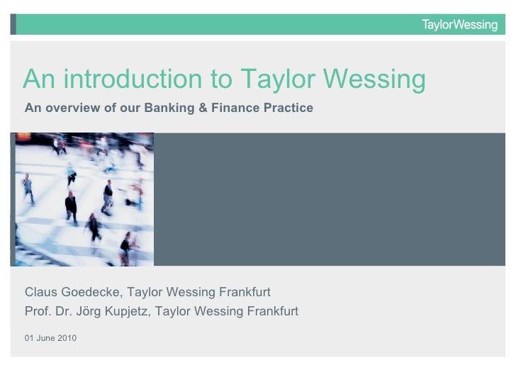 Banking & finance 01 june