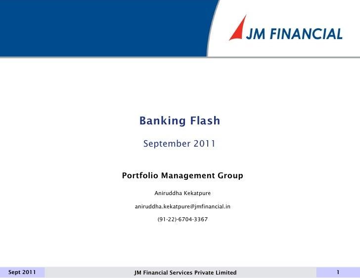 Indian Banks Turning Titanic- flash september 2011