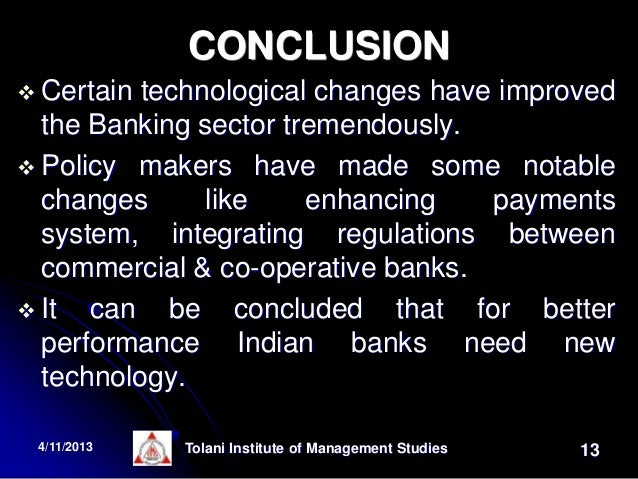 Impact of information technology (it) on the banking sector