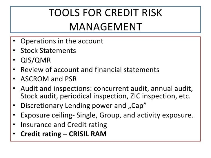 Dissertation report on risk management in banks