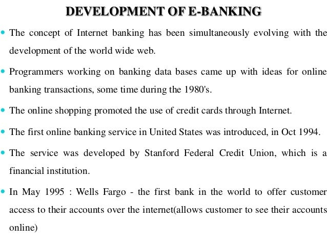Innovations In Banking Recent Developments
