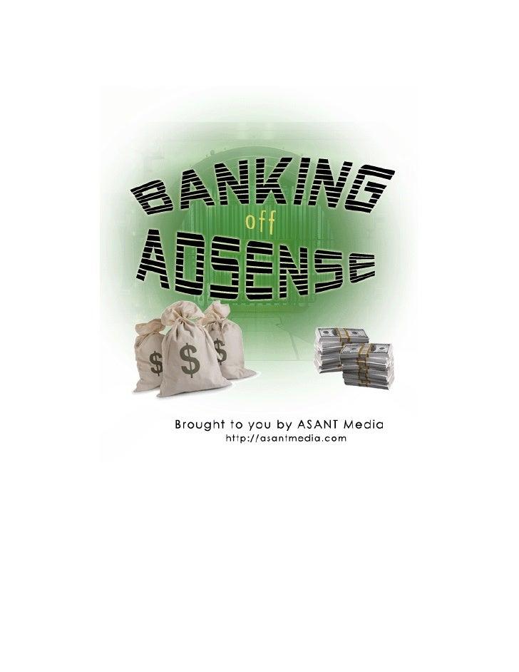 Banking Off Adsense