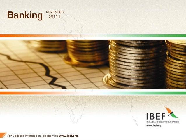 Banking presentation ibef