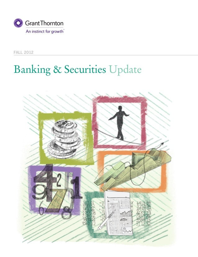 GT - Banking & Securities Update - Fall 2012
